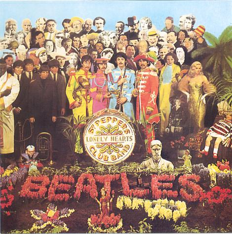 "Cover ""Sgt. Pepper's Lonely Hearts Club Band"""